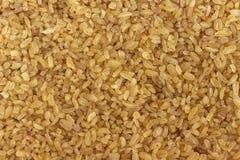 Grains de plan rapproché de bulgur Fond, texture photos libres de droits