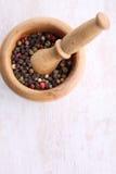 Grains de poivre Image stock