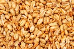 Grains frits d'arachide photos stock