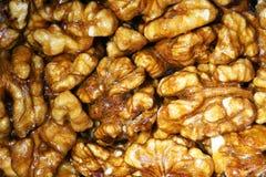 Grains glacés de noix photographie stock