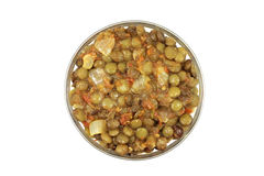 Grains lentils stewed with onions Royalty Free Stock Image