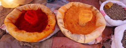 Grains locaux à vendre dans Lalibela photos libres de droits