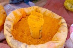 Grains locaux à vendre dans Lalibela images stock
