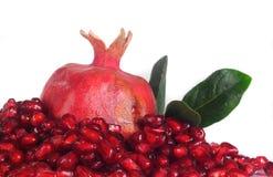 Grains  pomegranate Stock Photos