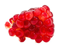 Grains of a pomegranate stock images