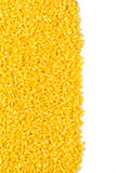 Grains of rice. On a white background with clipping path Stock Images