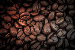 Grains of roasted coffee Royalty Free Stock Image
