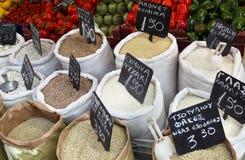 Grains sacks Royalty Free Stock Photography