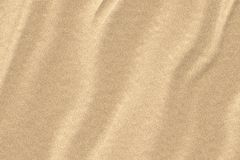 Grains of sand. Illustration of sand with ripples Stock Photos