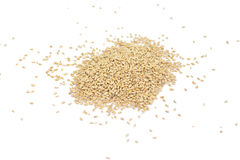Grains of wheat. Rye grain spilled, perfect for background Stock Photography