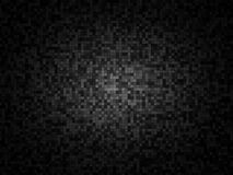 Grainy black checkered background. With vignette Royalty Free Stock Image