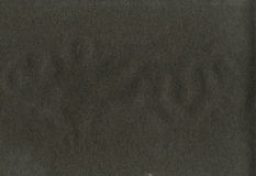 Grainy black paper texture Royalty Free Stock Photography