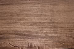 Grainy brown wood surface Royalty Free Stock Photography
