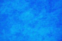 Blue mottled grainy background Stock Photo