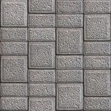 Grainy Paving Slabs. Seamless Tileable Texture. Royalty Free Stock Image