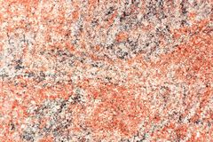 Grainy surface red gray granite, texture background stock images