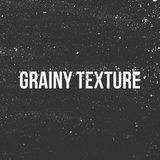Grainy Texture. Black and white Banner. Vector Illustration Stock Photos