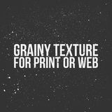 Grainy Texture for Print or Web Stock Photography