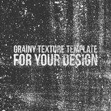 Grainy Texture Template for Your Design Stock Photography