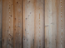 Grainy wooden planking. Aged wooden planking with a deep grain and knots royalty free stock photo