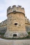 Grajal de Campos Castle, Léon Image libre de droits