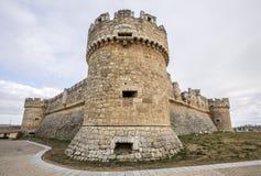 Grajal de Campos Castle, Leon στοκ φωτογραφία