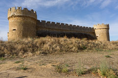 Grajal de Campos' Castle, in Leon, Spain Stock Image