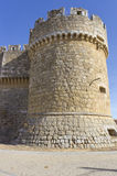 Grajal de Campos' Castle, in Leon, Spain Stock Photography