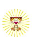 gralhelgedomsun royaltyfri illustrationer