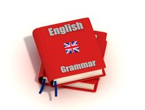 Gramática inglesa Foto de archivo