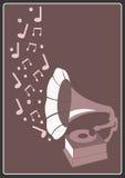 Gramófono stock de ilustración