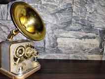 Gramófono artificial foto de archivo libre de regalías