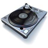 Gramófono de DJ Fotos de archivo libres de regalías