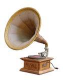 Gramófono de la vendimia Fotografía de archivo