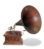 Gramófono de la vendimia Imagen de archivo libre de regalías