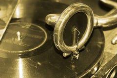 Gramófono de la vendimia Imagen de archivo