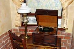 gramófono de la Viejo-moda Fotos de archivo