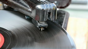 Gramófono, tocadiscos del vintage, nostalgia retra, metrajes