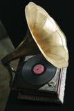 Gramófono viejo Fotografía de archivo libre de regalías