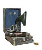 Gramófono viejo Fotos de archivo libres de regalías