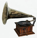 Gramófono viejo Foto de archivo