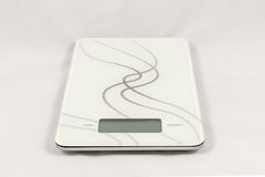 Gram digital kitchen scale Royalty Free Stock Images