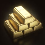 1000 Gram Gold Bar. Gold bar 1000 grams. Concept of success in business and finance Stock Photo