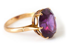 Gram-gram's golden ring Stock Images