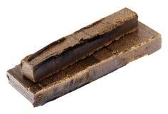 Isolerad Hashish fingrar - 10 & 20 gram Arkivfoton