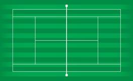 Grama da corte de tênis Foto de Stock
