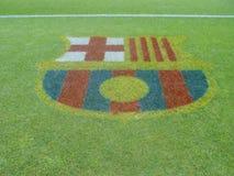 Grama do estádio do FCB Foto de Stock