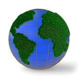 Grama do globo Imagens de Stock Royalty Free