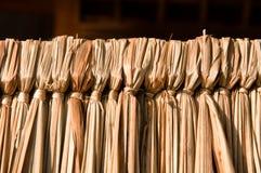 Grama obrigatória com núcleo de madeira Imagem de Stock Royalty Free
