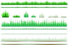 A grama verde sisolated/gramado - Vector a ilustração Imagem de Stock Royalty Free